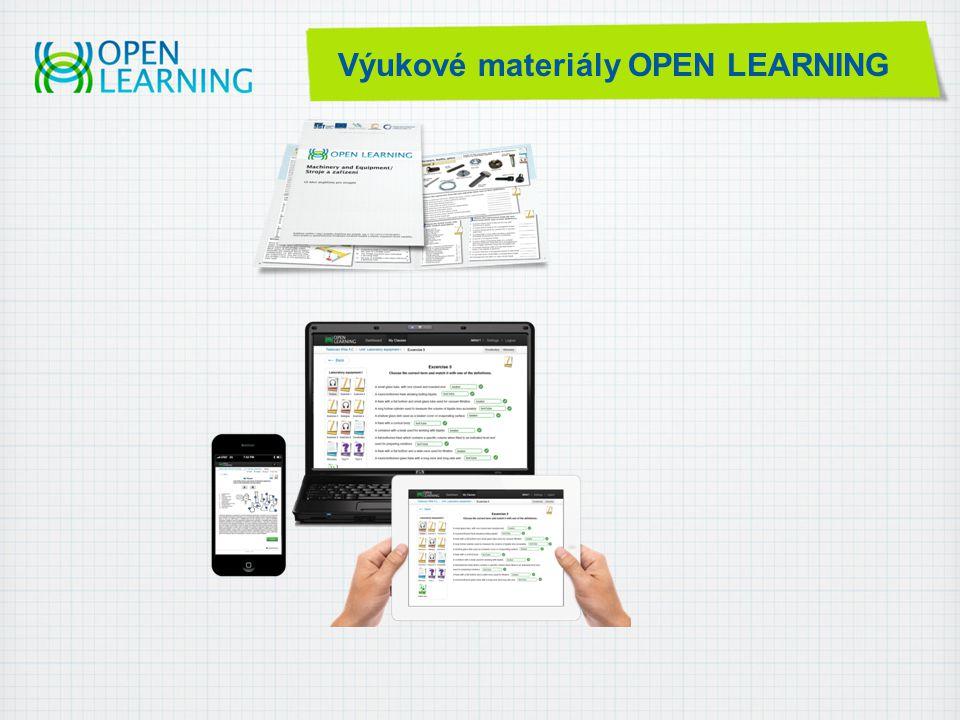 Výukové materiály OPEN LEARNING