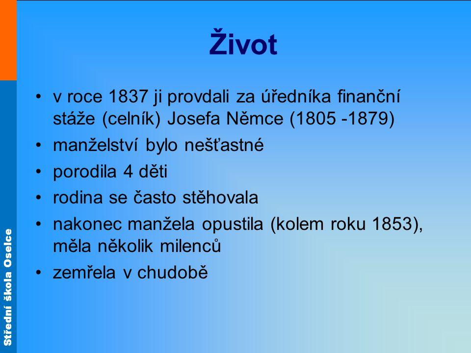 Střední škola Oselce Zdroj materiálů: POLÁŠKOVÁ, Taťána a kol.