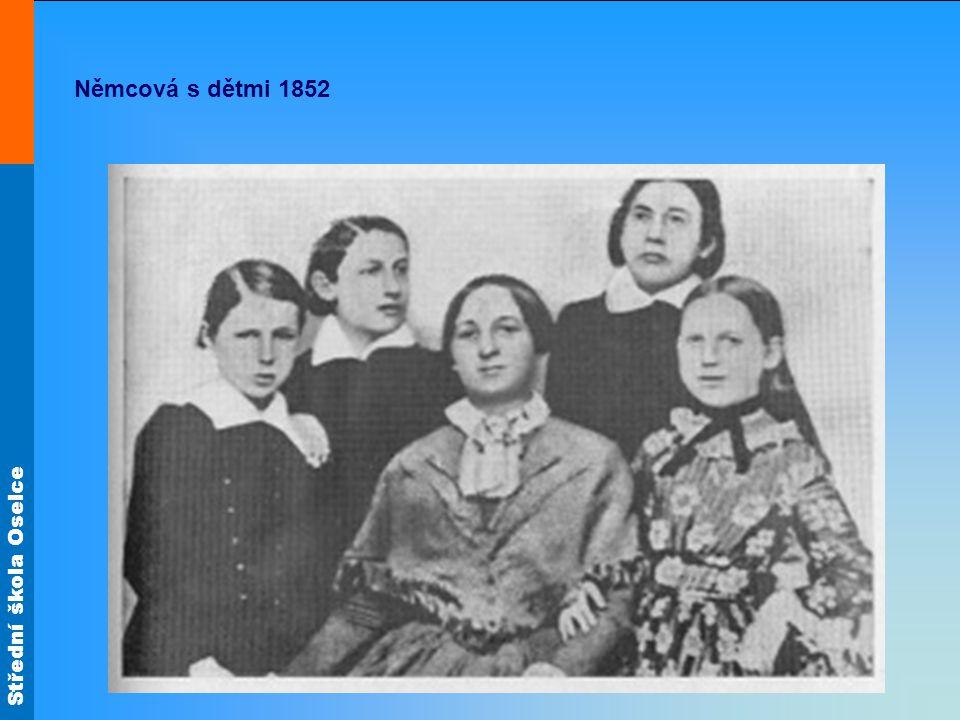 Střední škola Oselce Němcová s dětmi 1852