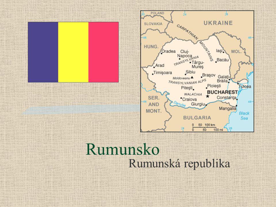 Rumunsko Rumunská republika