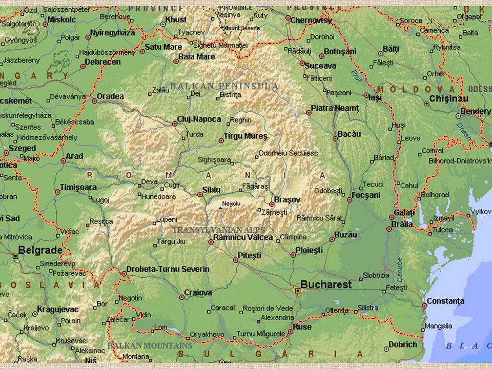 Historie §Historické regiony - Valašské a Moldavské knížectví §1415 pohlceno Osmanskou říší §1828 území pod vojensko správou Ruska §1834 konec Ruské okupace §1862 vyhlášeno sjednocení Moldavska a Valašska §1877 nezávislost §1881 Rumunské království §V první světové válce na straně spojenců §1941 připojení na stranu Německa §1944 okupace Sovětským svazem §1996 nastolení demokracie §2004 vstup do NATO