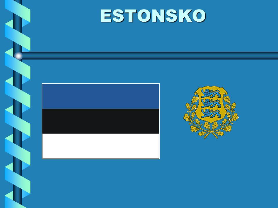 POLOHA nejmenší z pobaltských republik leží na severu Evropy leží na břehu Baltského moře mezi Rižským a Finským zálivem sousedí s - Ruskem (V) - Lotyšskem (J)