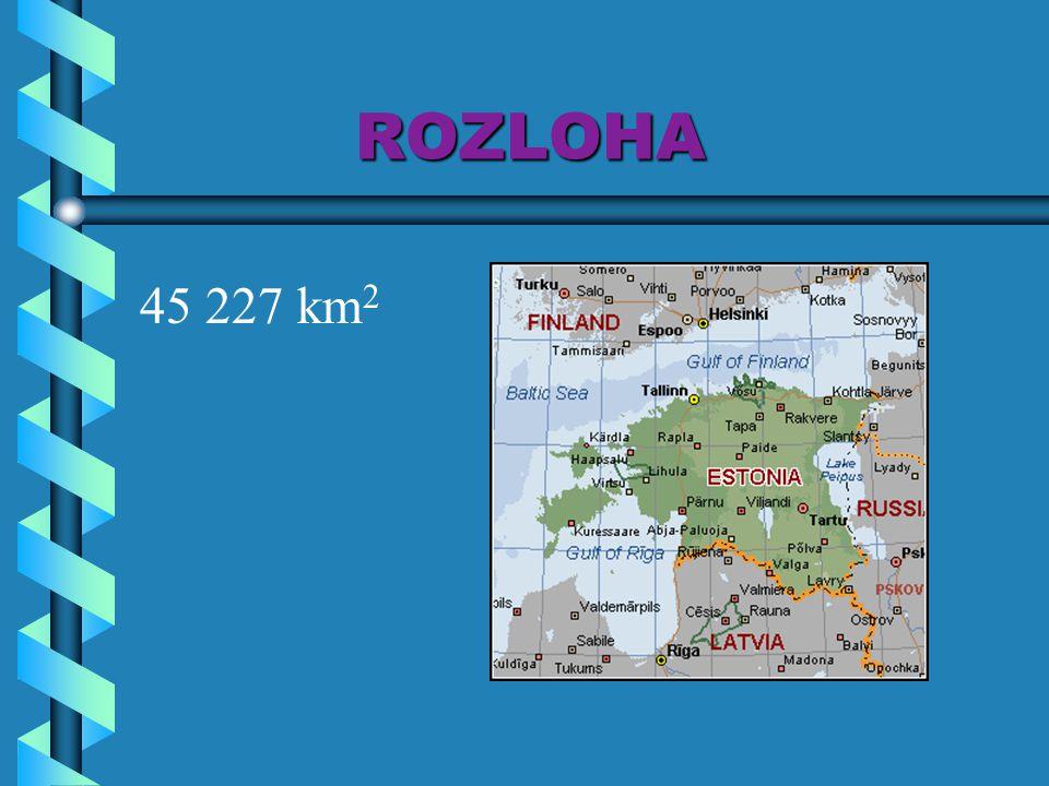 ROZLOHA ROZLOHA 45 227 km 2