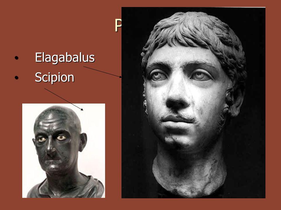 Portrét Elagabalus Elagabalus Scipion Scipion