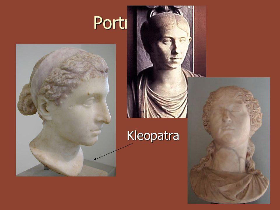 Portréty žen Kleopatra