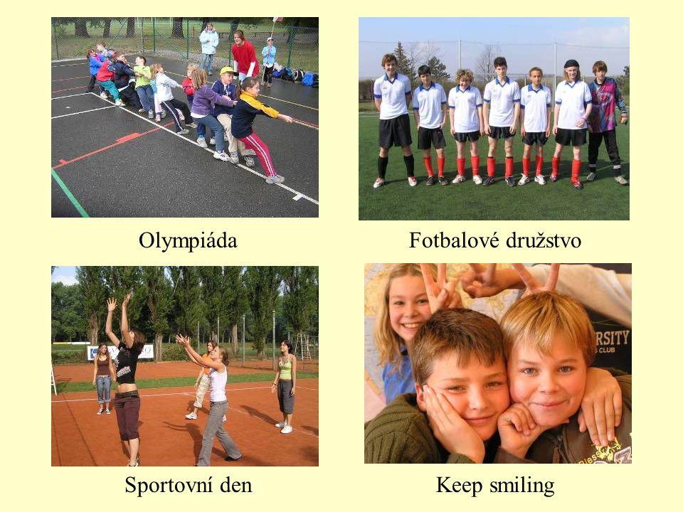 Olympiáda Sportovní den Fotbalové družstvo Keep smiling