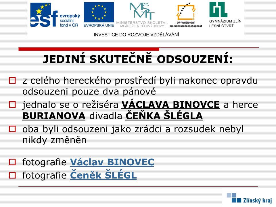 ODPOVĚDI NA OTÁZKY:  Adina MANDLOVÁ, Nataša GOLLOVÁ, Lída BAAROVÁ, Vlasta BURIAN, Oldřich NOVÝ...