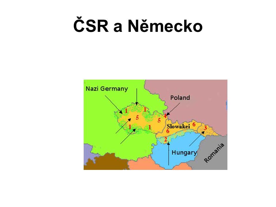 ČSR a Německo