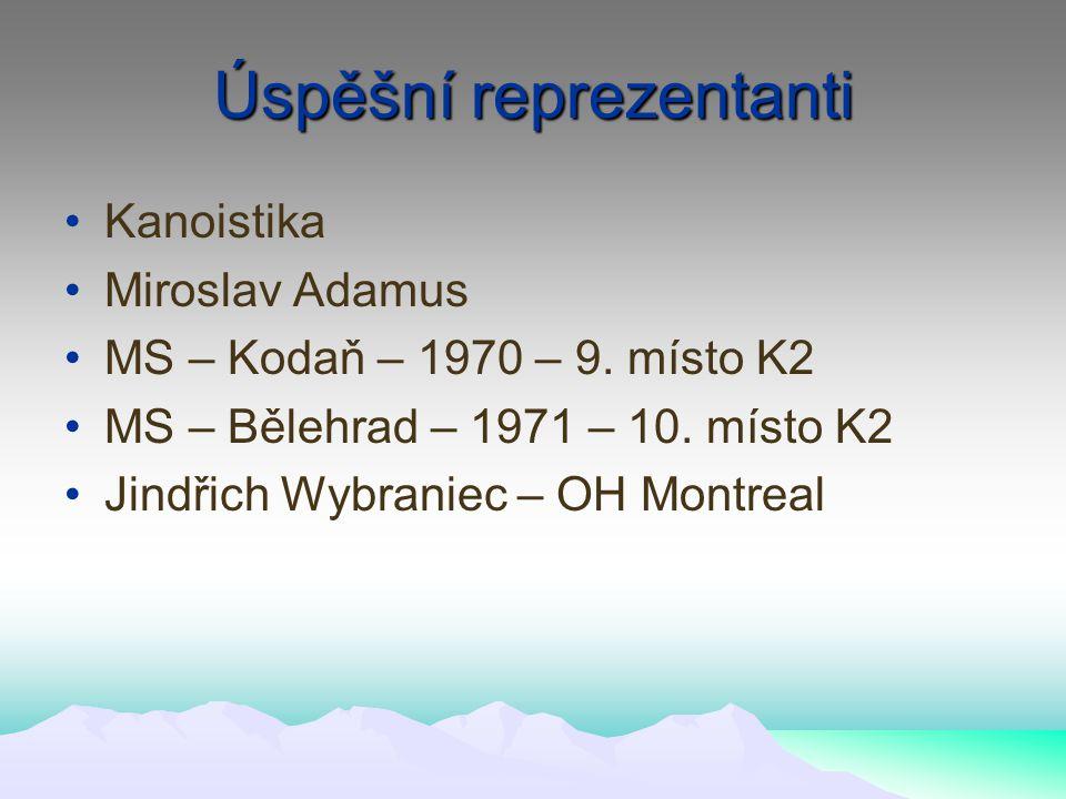 Úspěšní reprezentanti Kanoistika Miroslav Adamus MS – Kodaň – 1970 – 9.