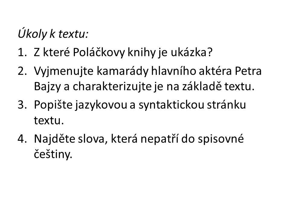 Citace: KUPCOVÁ, Helena a Jana ČEŇKOVÁ.Příběhy: texty k literární výchově pro 6.-9.