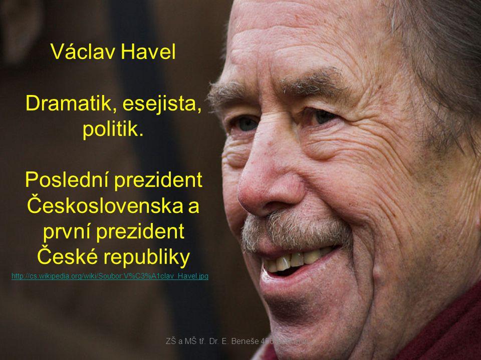 Václav Havel se narodil 5.10. 1936 v Praze.
