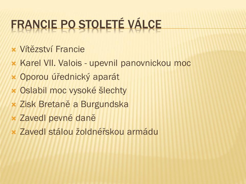  Vítězství Francie  Karel VII.