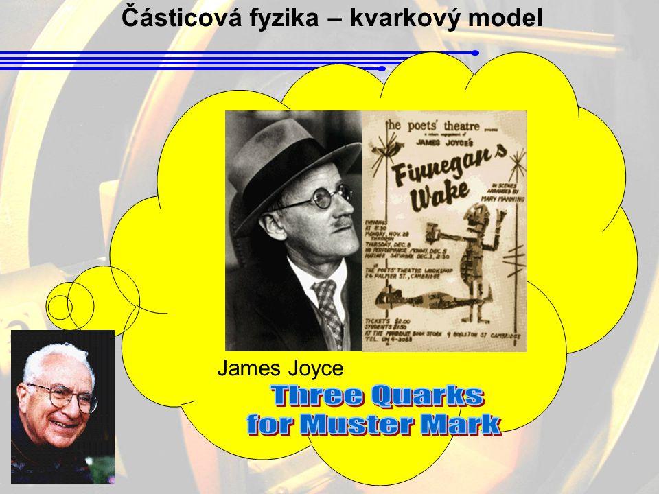 Částicová fyzika – kvarkový model James Joyce
