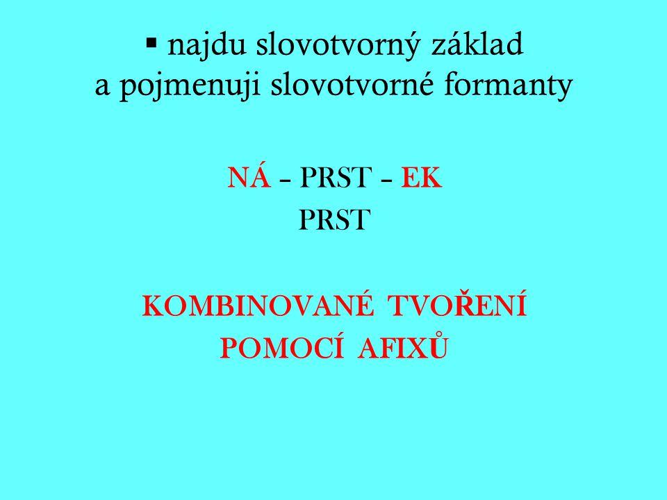 Slovotvorný – 2.
