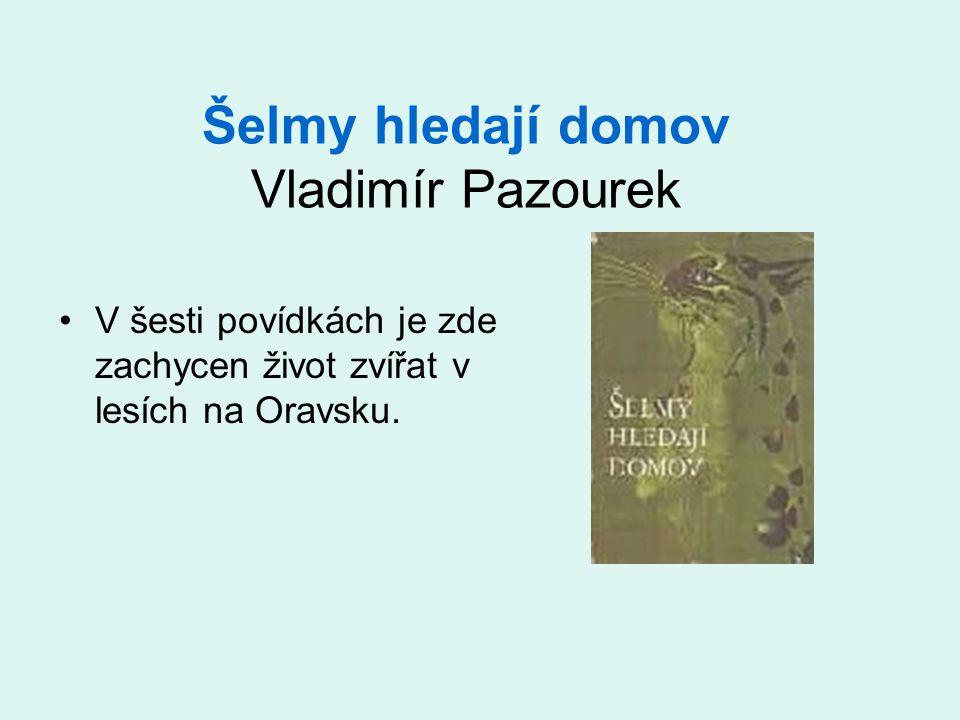 Šelmy hledají domov Vladimír Pazourek V šesti povídkách je zde zachycen život zvířat v lesích na Oravsku.