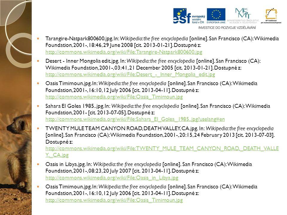 Tarangire-Natpark800600.jpg. In: Wikipedia: the free encyclopedia [online]. San Francisco (CA): Wikimedia Foundation, 2001-, 18:46, 29 June 2008 [cit.