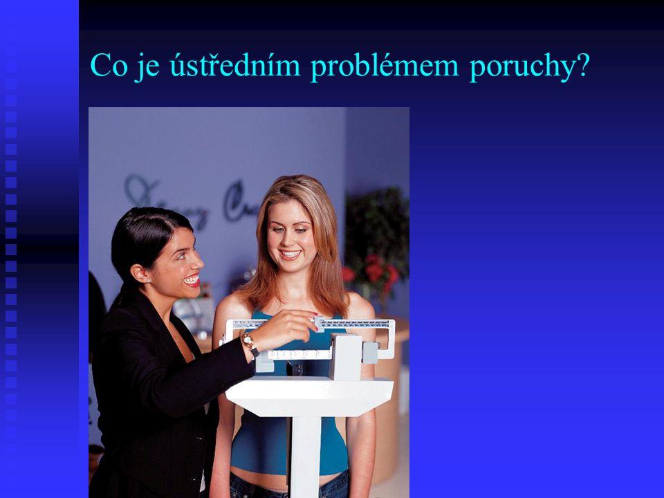 Co je ústředním problémem poruchy?
