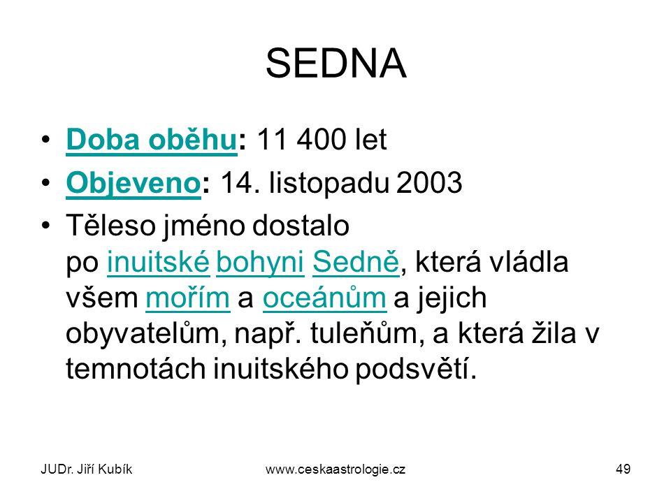 JUDr. Jiří Kubíkwww.ceskaastrologie.cz50