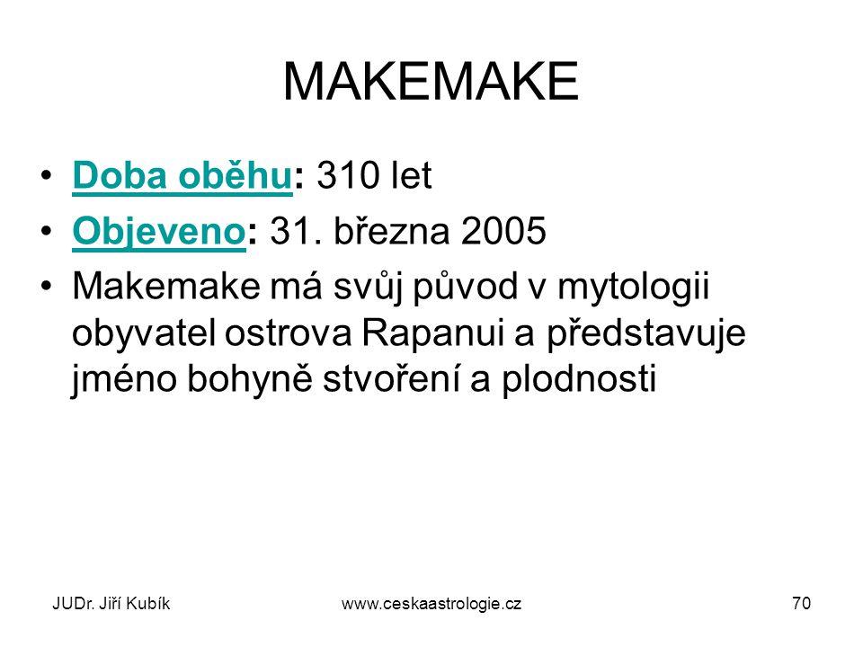 JUDr. Jiří Kubíkwww.ceskaastrologie.cz71