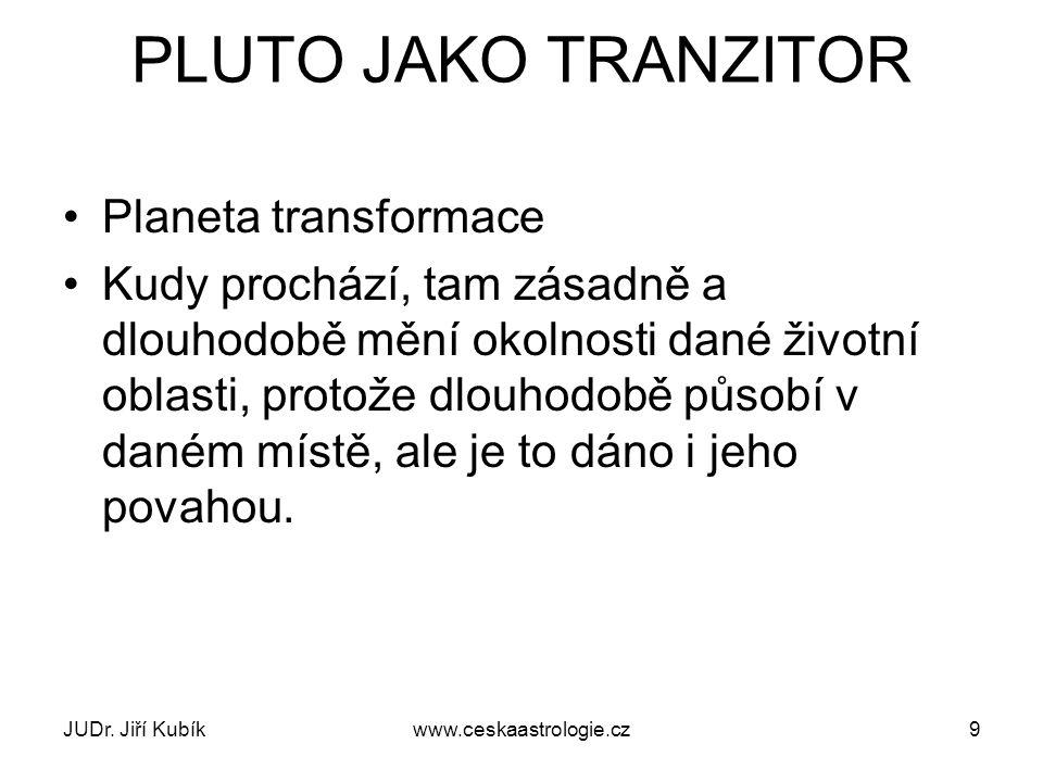SLUNEČNÍ SOUSTAVA JUDr. Jiří Kubíkwww.ceskaastrologie.cz10