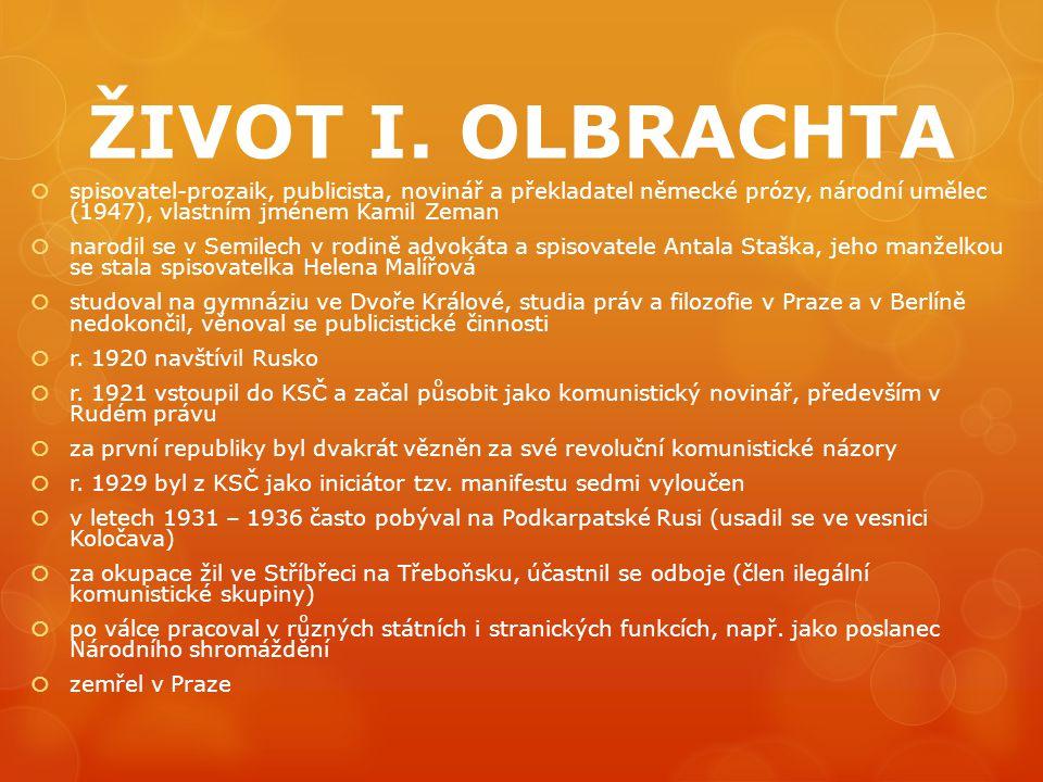 DÍLO I.OLBRACHTA – 20.