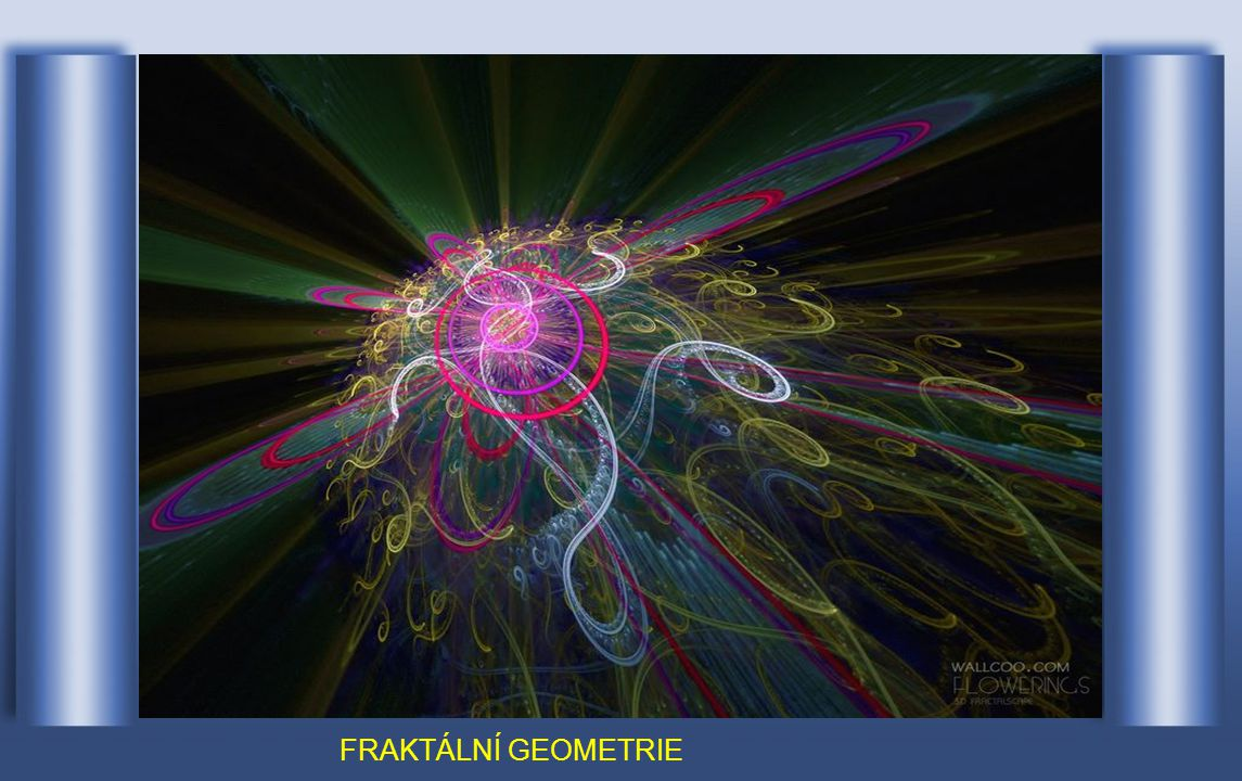 V 70-80 letech 20. století vznikl nový obor matematiky – fraktální geometrie.