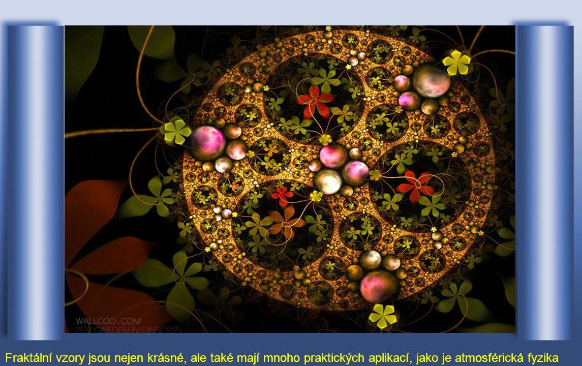 Fraktální geometrie zobrazuje krásné vzory a přirozeně vyvolává zájem umělců
