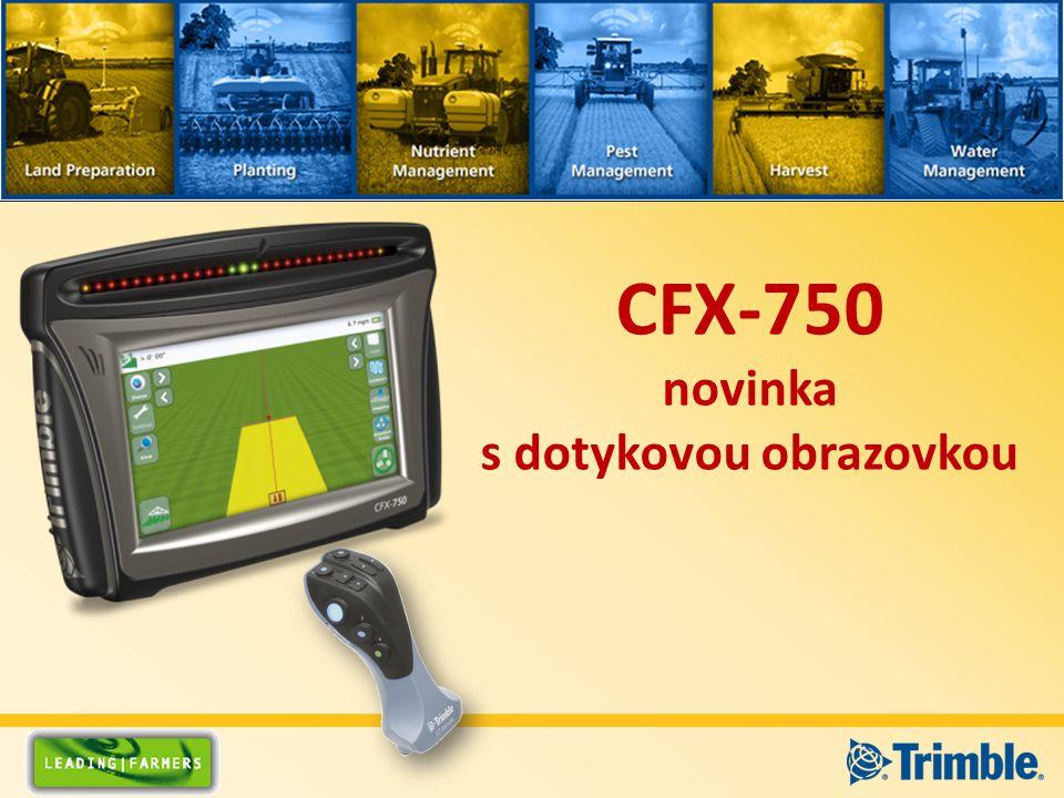 CFX-750 novinka s dotykovou obrazovkou