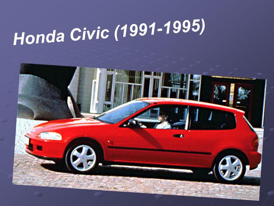 V roce 1991 dostal Civic úplně novou, klínovitě se svažující aerodynamickou karoserii s většími rozměry.