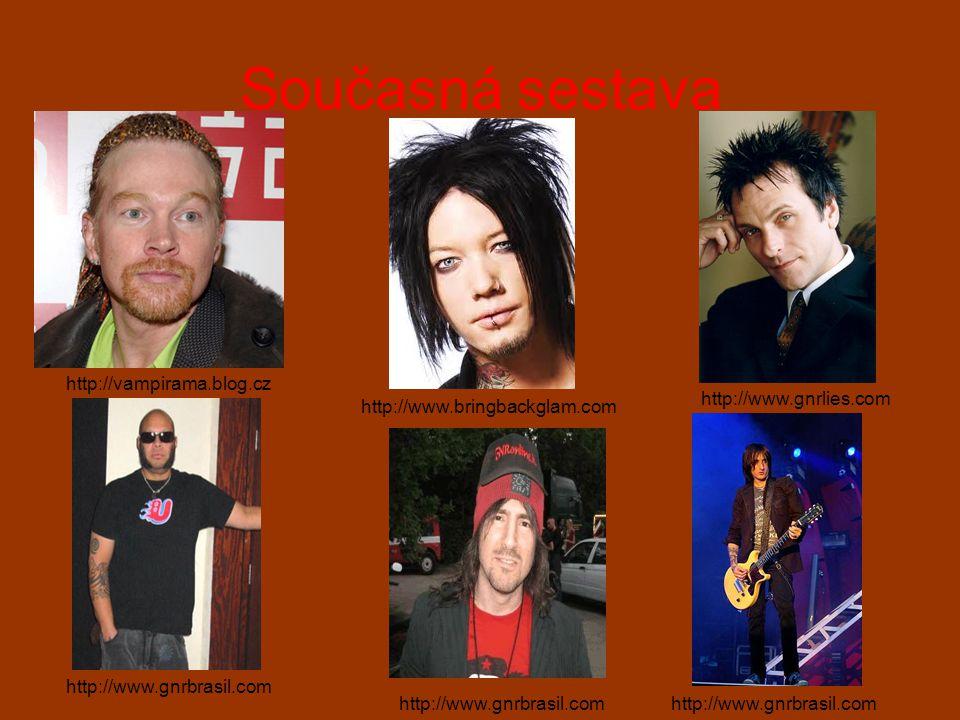 Současná sestava http://vampirama.blog.cz http://www.bringbackglam.com http://www.gnrlies.com http://www.gnrbrasil.com