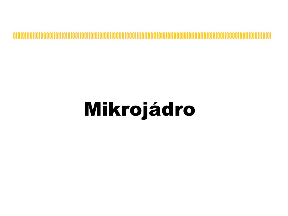 Mikrojádro