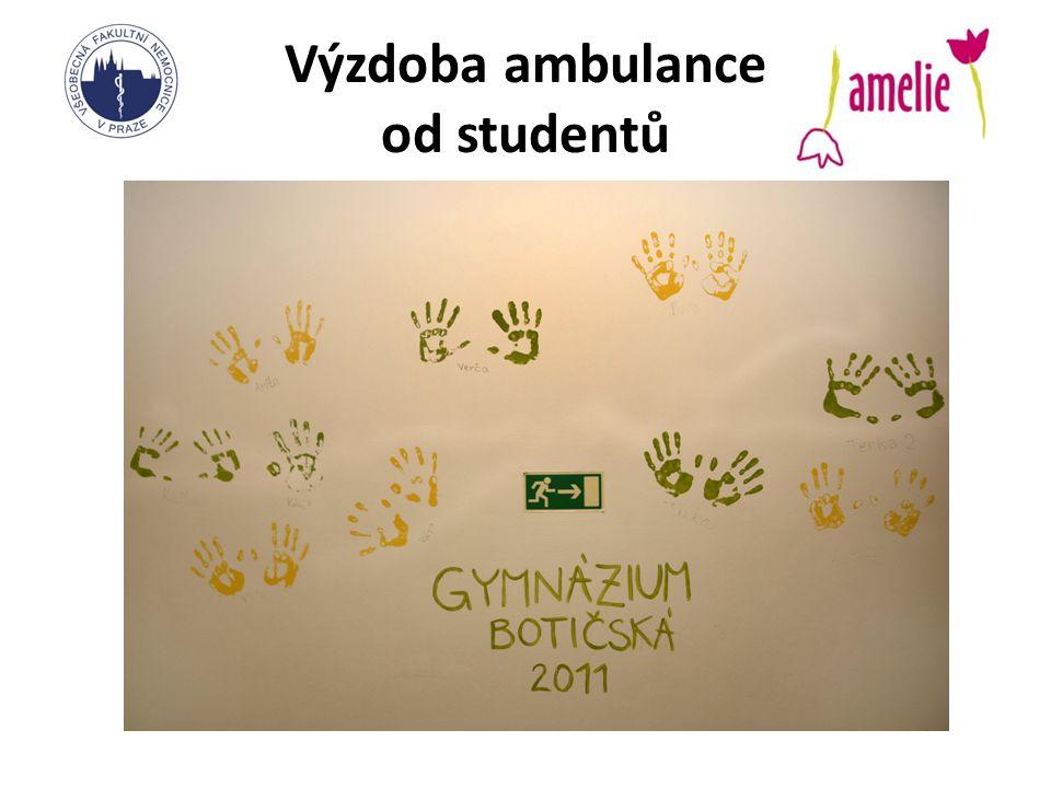 Výzdoba ambulance od studentů