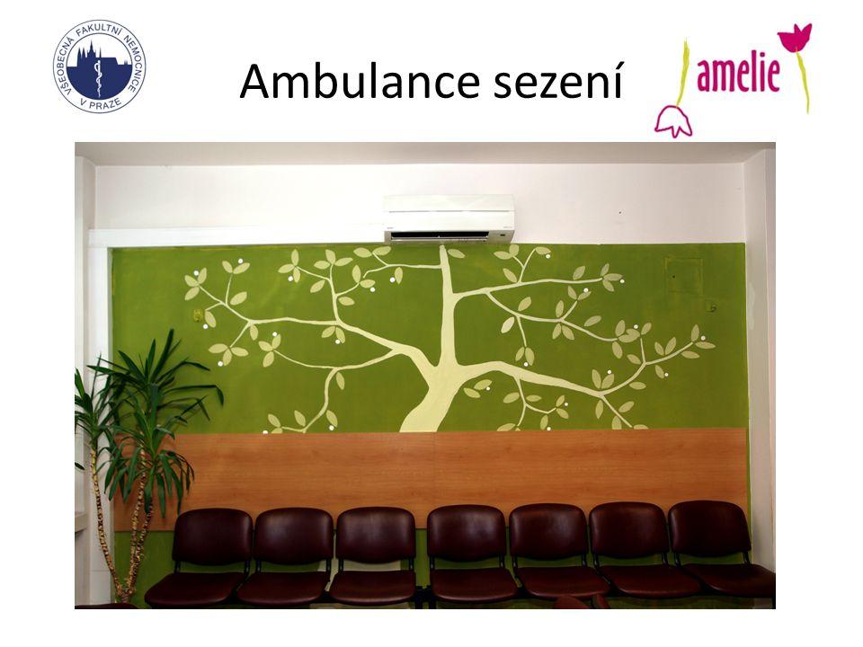 Ambulance sezení