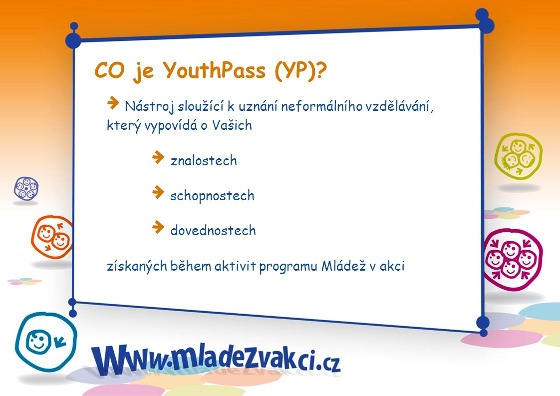 CO je YouthPass (YP).