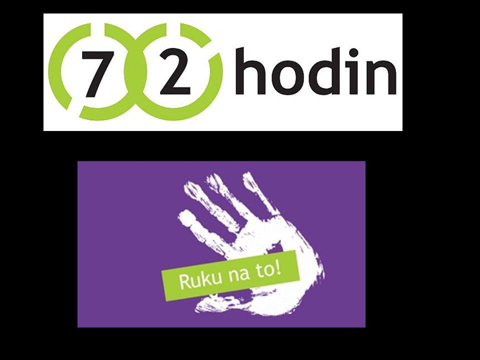 Co byl projekt,,72 hodin ..Jednalo se o tři dny plné dobrovolnických aktivit po celé ČR.