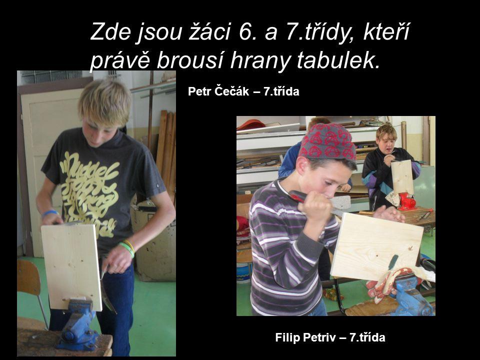 David Beňovský – 6.třída Roman Oláh – 7.třída