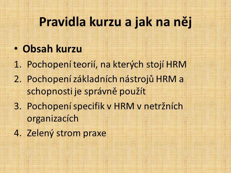 Prehistorie a historie HRM IX.