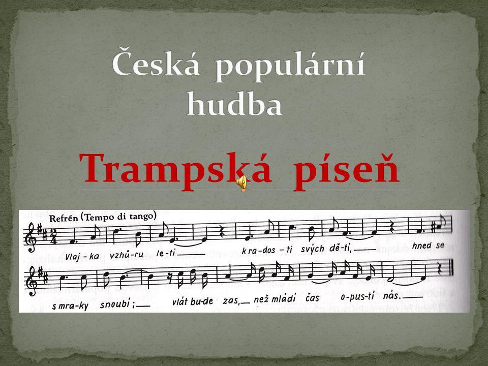 Název šablony: Inovace v HV 32/Hv12/5.5.2013 Zbíral Vzdělávací oblast: Umění a kultura Název výukového materiálu: Historie české populární hudby Autor: Mgr.