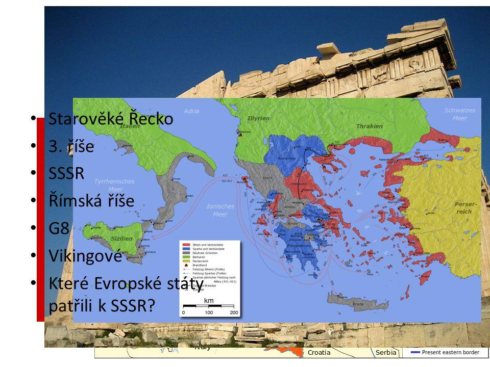 Střípky z historie Starověké Řecko 3.
