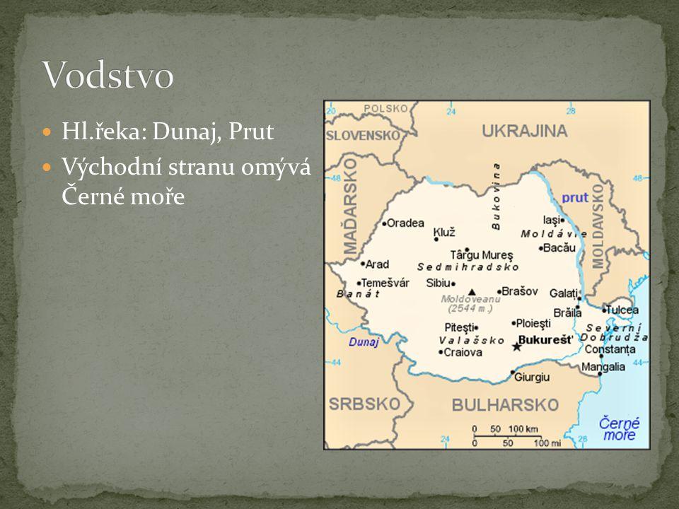 Nej.hora: Moldoveanu (2544 m.n.m) Pohoří: Východní Karpaty, Jižní Karpaty, Západní Hory