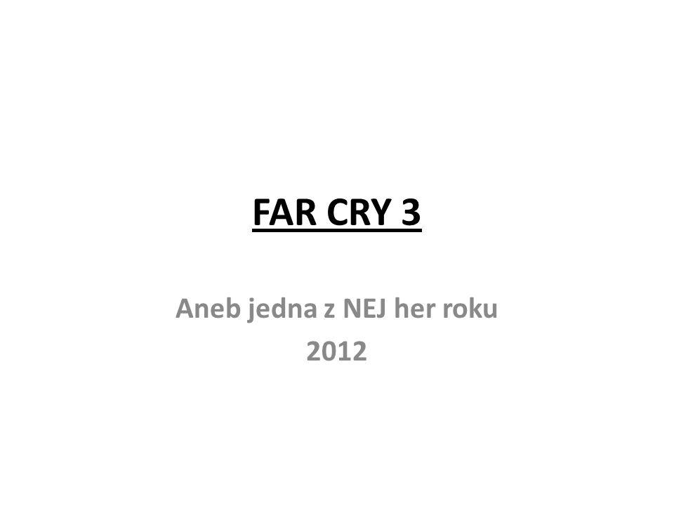 FAR CRY 3 Aneb jedna z NEJ her roku 2012