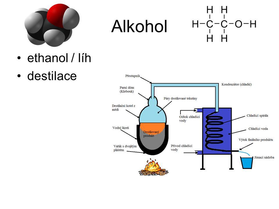 Alkohol ethanol / líh destilace