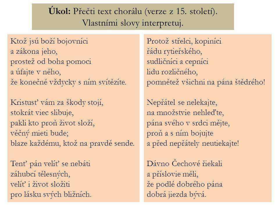 Dávno Čechové řiekali a příslovie měli, že podlé dobrého pána dobrá jiezda bývá.