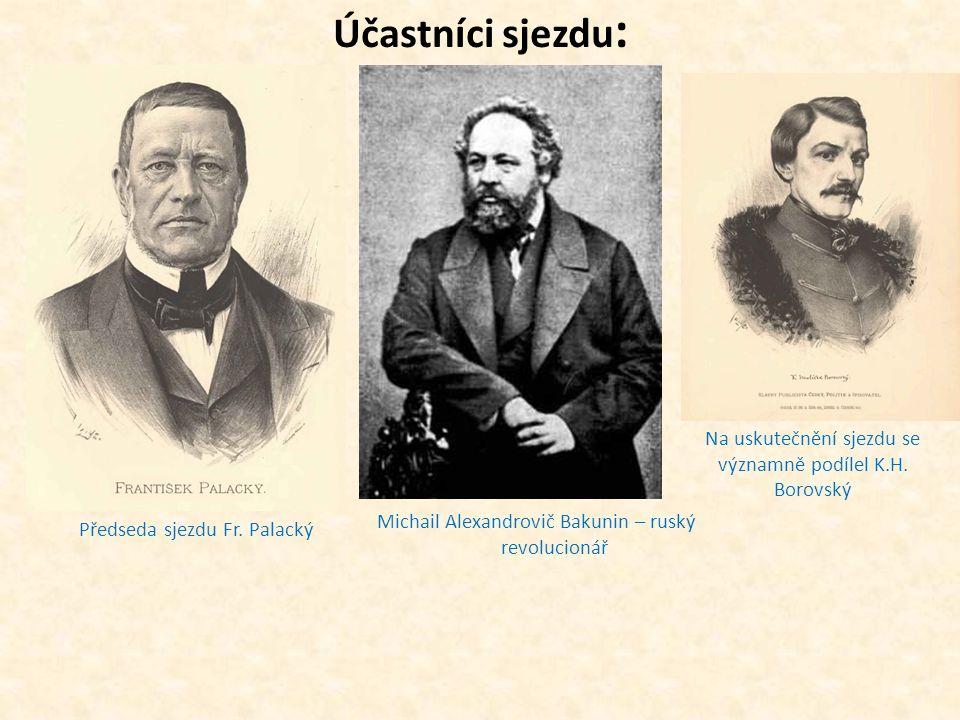 5)Postoj císaře: -od března do června 1848 získával čas, aby mohl revoluce potlačit Ferdinand I.