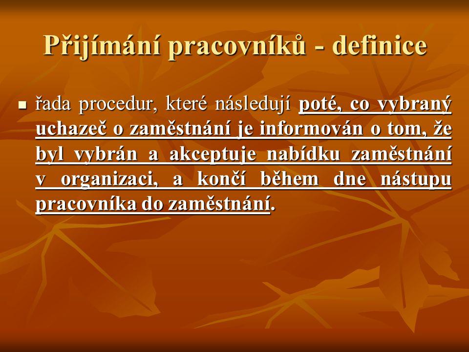 Oblasti orientace celoorganizační (celopodniková) orientace – zprostředkování informací obecného rázu, společná pro všechny pracovníky organizace celoorganizační (celopodniková) orientace – zprostředkování informací obecného rázu, společná pro všechny pracovníky organizace útvarová orientace (popř.