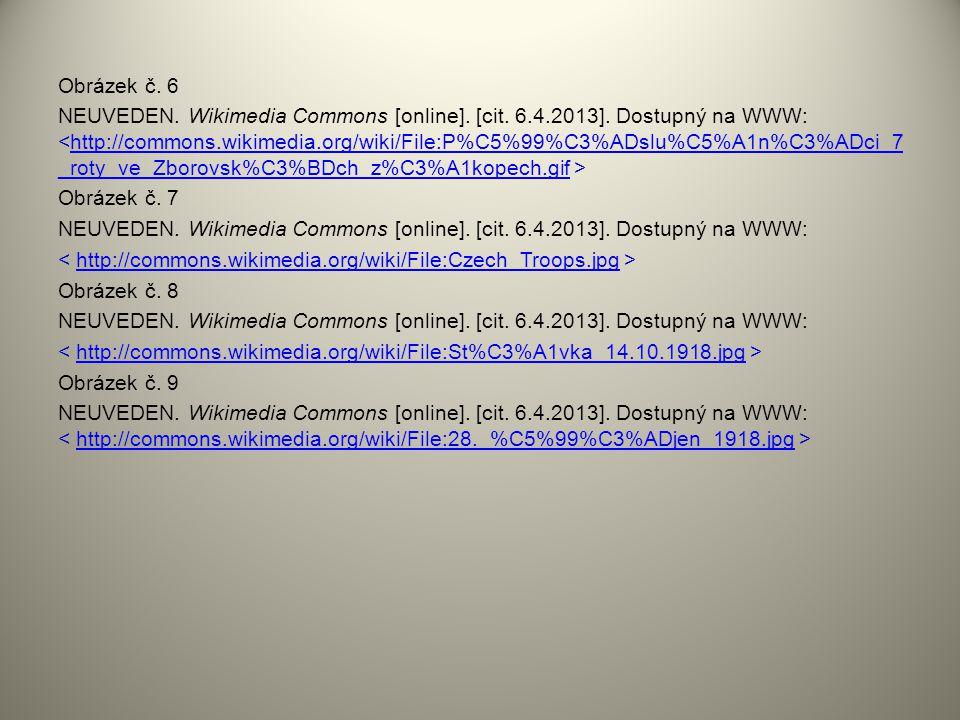 Obrázek č. 6 NEUVEDEN. Wikimedia Commons [online]. [cit. 6.4.2013]. Dostupný na WWW: http://commons.wikimedia.org/wiki/File:P%C5%99%C3%ADslu%C5%A1n%C3