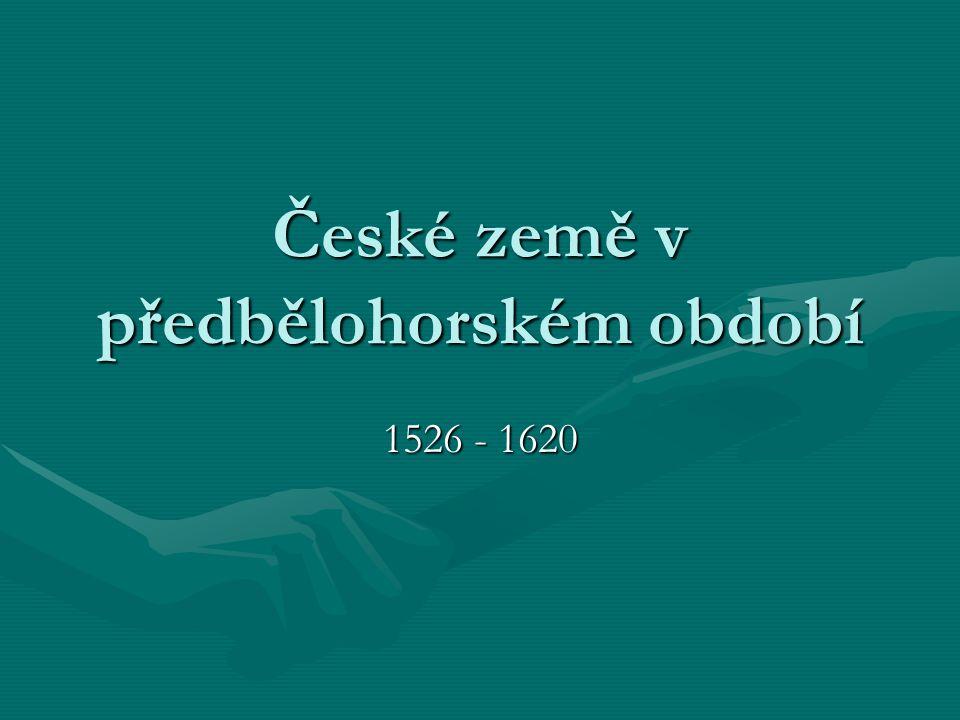 Nástup Habsburků na český trůn 1526 – Ferdinand I.