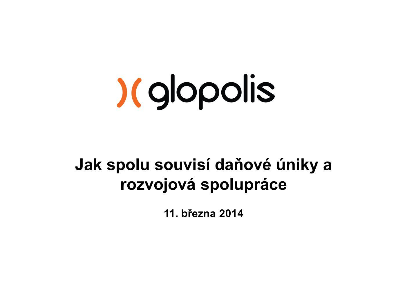 Jak spolu souvisí daňové úniky a rozvojová spolupráce 11. března 2014