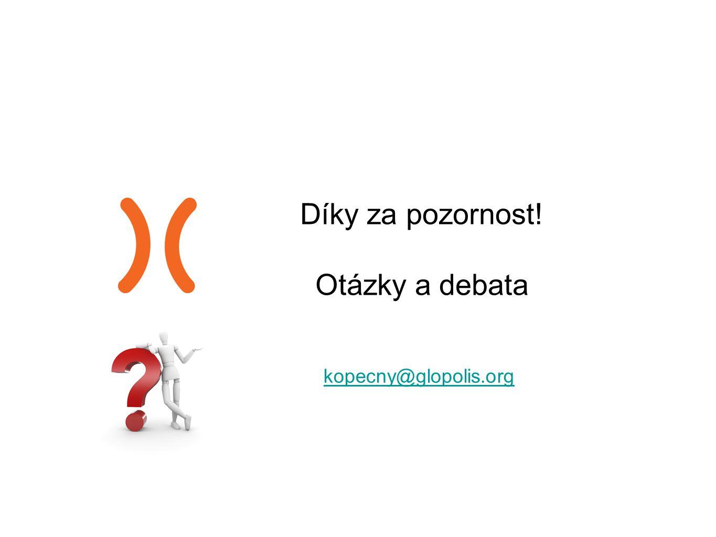 Díky za pozornost! Otázky a debata kopecny@glopolis.org