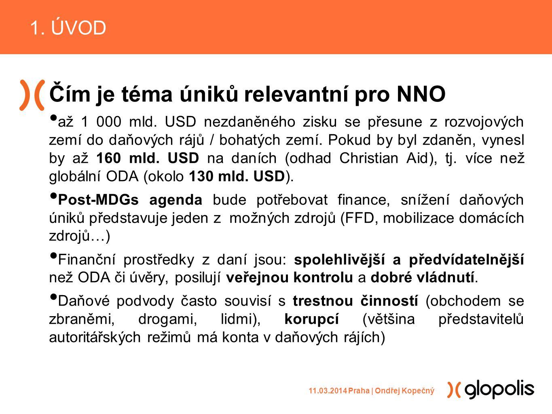 Čím je téma úniků relevantní pro NNO až 1 000 mld.